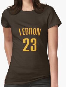 LeBron James Jersey Style Womens Fitted T-Shirt