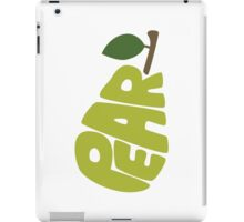 Type O' Pear iPad Case/Skin