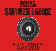 Penza Surveillance  One Piece - Short Sleeve