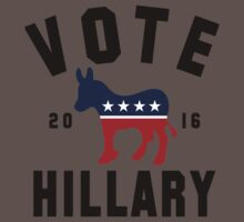Vintage Vote Hillary Clinton 2016 Womens Shirt One Piece - Short Sleeve