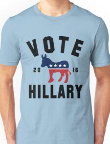 Vintage Vote Hillary Clinton 2016 Womens Shirt Unisex T-Shirt