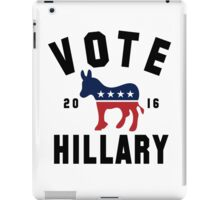Vintage Vote Hillary Clinton 2016 Womens Shirt iPad Case/Skin