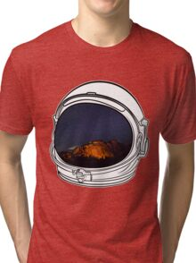 Camping on the Moon Tri-blend T-Shirt