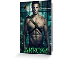 Arrow Destiny Leaves its mark Greeting Card