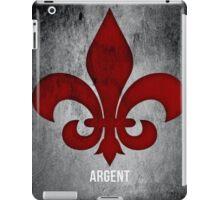 Argent iPad Case/Skin