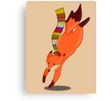 Doctor Fox Canvas Print