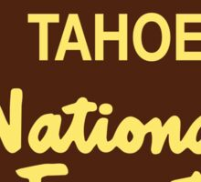 Tahoe National Forest Sticker