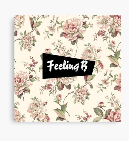 Feeling B Canvas Print