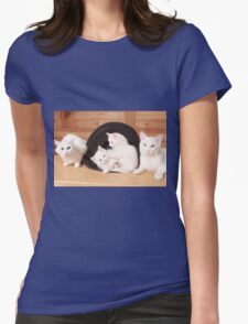 Family Portrait Womens Fitted T-Shirt