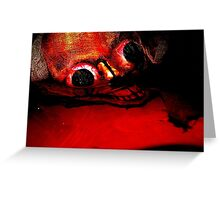 Blood Red River Greeting Card