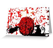 Brain Food Greeting Card