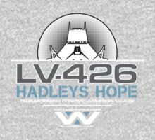 Hadleys Hope - Atmosphere Processing Plant - Aliens Kids Tee