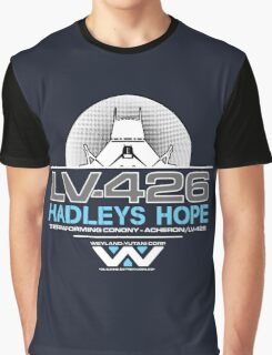 Hadleys Hope - Atmosphere Processing Plant - Aliens Graphic T-Shirt