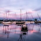 Southport Harbor by Tom Piorkowski