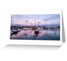 Southport Harbor Greeting Card