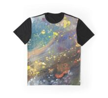 Intricate Galaxy Painting Graphic T-Shirt