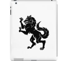 House of the Direwolf - Black iPad Case/Skin