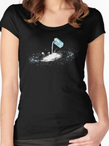 THE MILKY WAY Women's Fitted Scoop T-Shirt