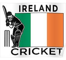Ireland Cricket Poster