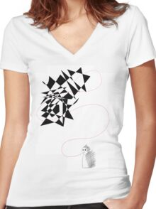 Speechless Women's Fitted V-Neck T-Shirt