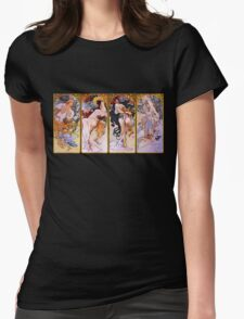 the 4 seasons Womens Fitted T-Shirt