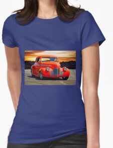 1941 Chevrolet Master Deluxe Coupe 'Reno Sunrise' Womens Fitted T-Shirt
