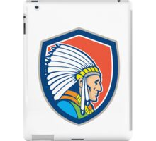 Native American Indian Chief Cartoon iPad Case/Skin
