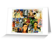 Obsessed with Frida Kahlo Greeting Card