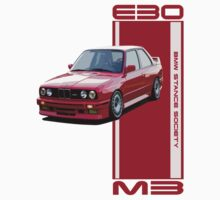 M3-E30 red by BSsociety