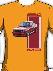 M3-E30 red T-Shirt