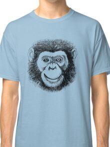 Chimpanzee Face Classic T-Shirt