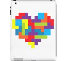 Tetris 8-Bit Heart  iPad Case/Skin