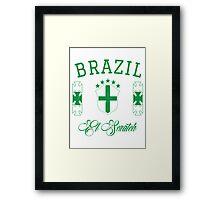 Brazil National Team Framed Print