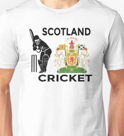 Scotland Cricket Unisex T-Shirt