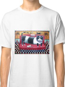 Black and White Cats Classic T-Shirt