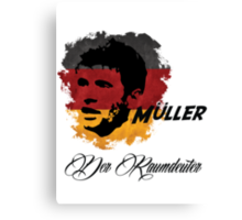 Germany Thomas Muller World Cup 2014 Canvas Print