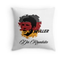 Germany Thomas Muller World Cup 2014 Throw Pillow