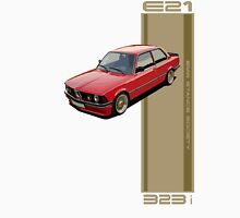 BMW E21 red Unisex T-Shirt
