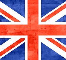 Vintage United Kingdom Flag #2 by Nhan Ngo