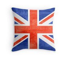 Vintage United Kingdom Flag #2 Throw Pillow