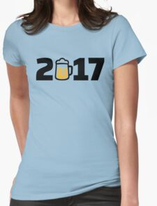 2017 beer Womens Fitted T-Shirt