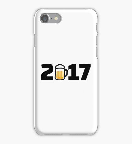 2017 beer iPhone Case/Skin