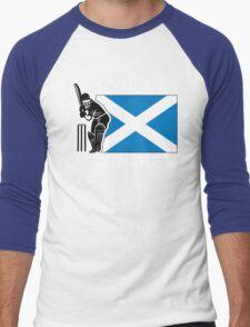 Scotland Cricket Men's Baseball ¾ T-Shirt