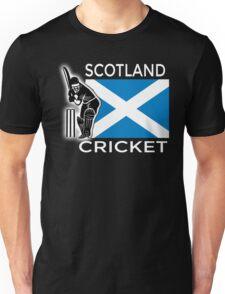 Scotland Cricket Unisex T-Shirt