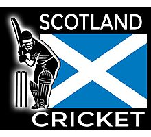 Scotland Cricket Photographic Print