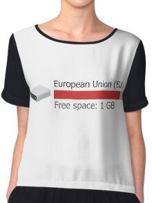 1 GB free space Chiffon Top