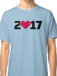 2017 heart Classic T-Shirt