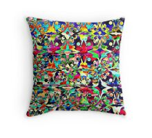 Psychecolor Throw Pillow