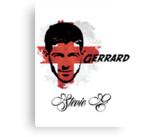Steven Gerrard England World Cup 2014 Canvas Print