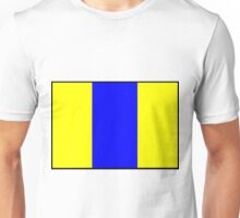 Number 8 Flag Unisex T-Shirt